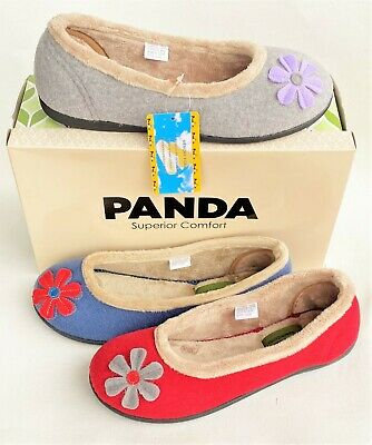 Womens comfort flat slipper - Elgin by Panda Slippers superior comfort