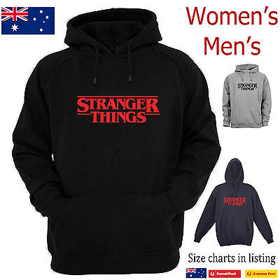 Stranger Things Funny fleecy hoodies T-Shirts in shop Netflix TV Show Horror new