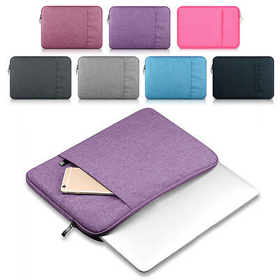 15inch DT Laptop Sleeve Case Bag Pouch Storage For Mac MacBook Air Pro 11 13