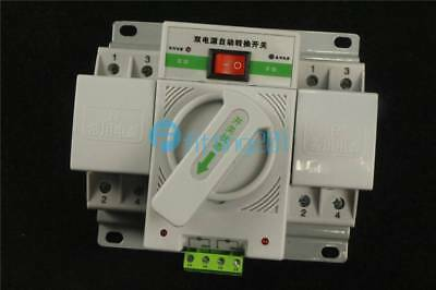 Intelligent Mini 63A 3-Phase Dual Power Automatic Transfer Switch Q3R-63