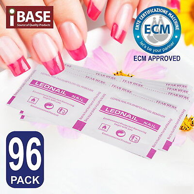 96x Alcohol Pads Nail Polish Removers Antiseptic Skin Swab Wipes Isopropyl Clean