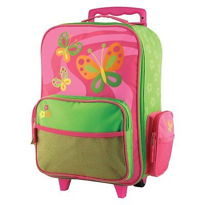 NEW Stephen Joseph Butterfly Rolling Luggage