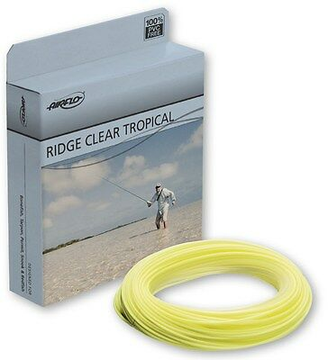 Airflo NEW Ridge Tropical Clear/Yellow Tip Floating Lightweight Fly Fishing Line