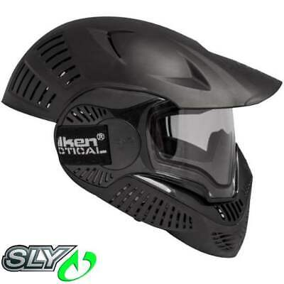 Sly Annex MI-7 Full Cover Paintball Thermal Maske (schwarz)