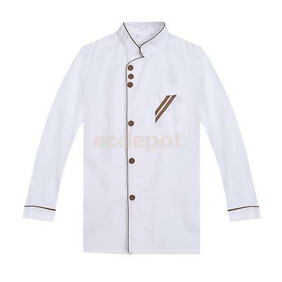 Food Service Cook Clothes Fashion Cook Uniform Suit Long Sleeves Clothing L