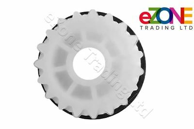 GAM Pizza Dough Roller External 19 Teeth Gear Replacement Fits R30 and R40