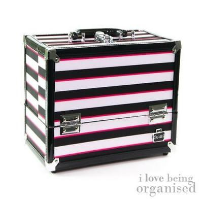 Caboodles Makeup Case Train Organiser Cosmetic Box Professional Storage