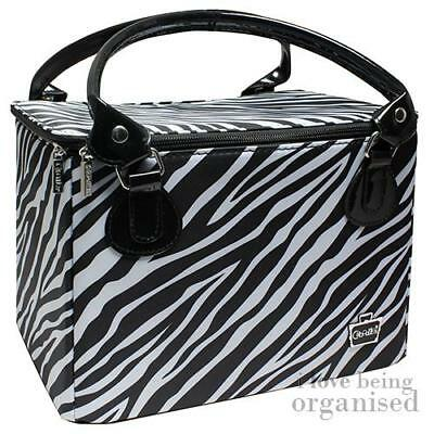 Caboodles Case Cosmetic Carry Bag Makeup Vanity Travel Box Professional