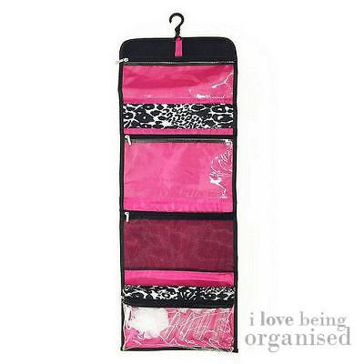 Caboodles Hanging Bathroom Storage Bag Organiser Tidy Pockets Holder