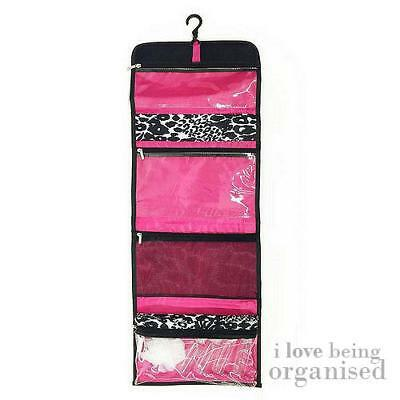 Large Hanging Bathroom Organiser Makeup Toiletry Travel Kit | Caboodles Valet |