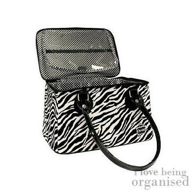 Makeup Bag with Brush Compartment | Caboodles Heartthrob Tote