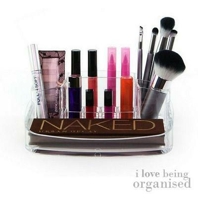 Luxury Clear Acrylic Makeup Lipstick Holder Organiser  | Caboodles Cosmetic Cout