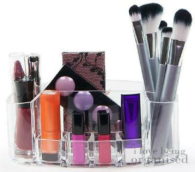 Acrylic Cosmetic Makeup Organsier and Lipstick Display Tray