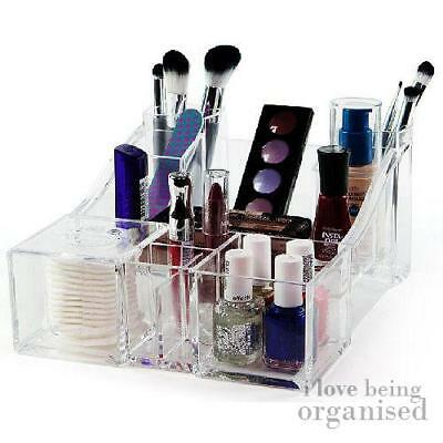 Large Luxury Acrylic Beauty Makeup Organiser with 11 Compartments