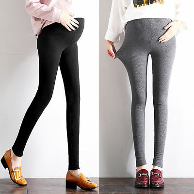 Overbumped Leggings Skinny Trousers Pants Pregnancy Maternity  6 8 10 12 7156