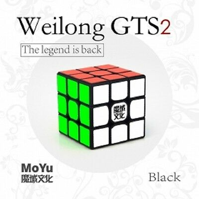 Moyu WeilongGTS V2 3x3 magic cube cubo mágico WEILONG GTS 2 GTS2 speedcube