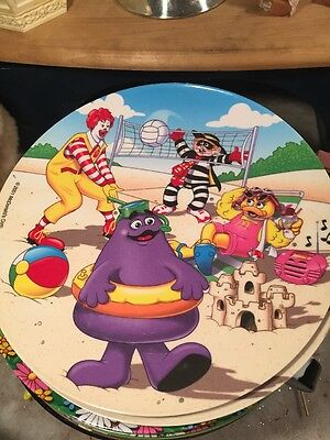 Lot Of McDonald's Plates Easter Decor 8 Plates