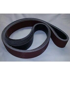 "2"" x 36"" Sanding Belts A/O Variety Pack (8 Belts) Farrier, Blacksmith, Knife"