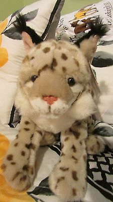 "12"" LYNX  SUPER SOFT Plush 2003 SOS Save our Space"