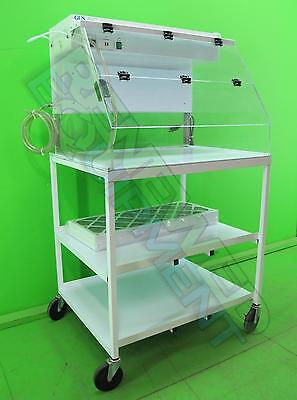 PCI Medical Glutaraldehyde User Station Hood on Cart with Extra Filter