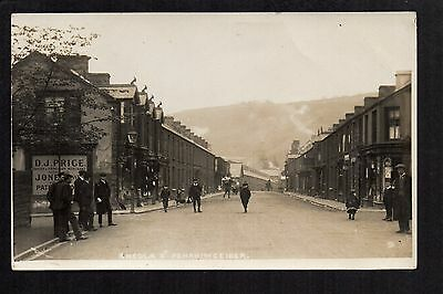 Penrhiwceiber - Ameola Street - real photographic postcard