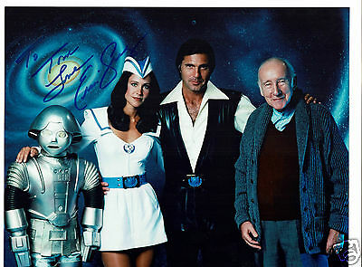 Erin Gray Actress Buck Rogers Hand signed Photograph 10 x 8