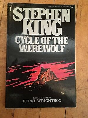 CYCLE OF THE WEREWOLF *Stephen King 1st Edition Book!