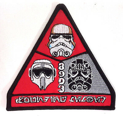 """Star Wars 501st Legion Trooper  3.5"""" Embroidered Patch- FREE S&H  (SWPA-KL-24)"""