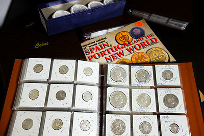 Portugal Coin Collection 600+ Different Coins Many Silver Old Worth $8,000+