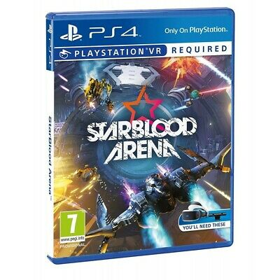 Starblood Arena Vr Ps4 Psvr Videojuego Físico Play4 Requiere Playstation Vr