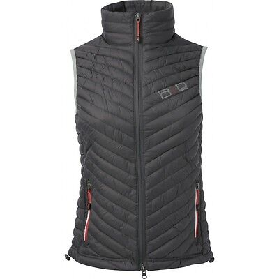 Equi-Theme R & D Mens Quilted Gilet Padded Waistcoat Dark Grey 978071
