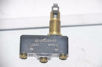 Lot of 3 Micro Switch BZ-2RQ181-A2 Roller Limit Switch