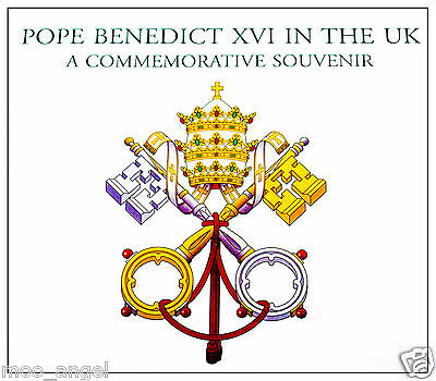 Pope Benedict visit commemorative book papal visit to England