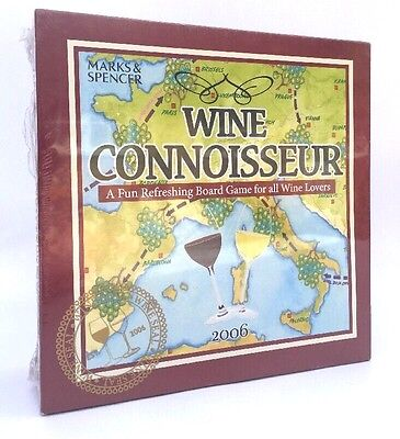 Marks ans Spencers Wine Connoisseur Board Game - New and Sealed