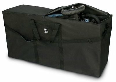 NEW JL Childress Standard and Dual Stroller Travel Bag, Black