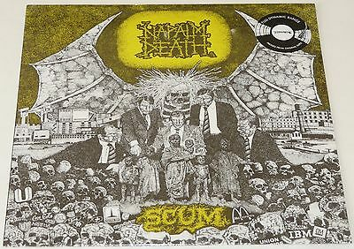 Napalm Death Scum LP Full FDR Remaster Vinyl March 2017 Release NEW