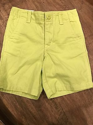 NEW Baby Gap Toddler Boys Chino Shorts, 2T Neon