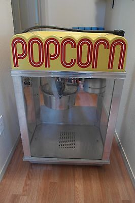 Gold Medal Citation Model 2001 120v Popcorn Machine 14oz Kettle