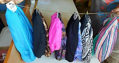 two-piece set round neck scarves;assorted colors and designs