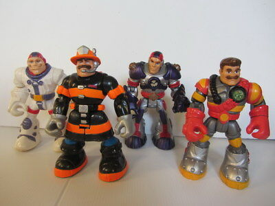 Fisher Price RESCUE HEROES - Bulk Lot x3 - Action Figures (2001)