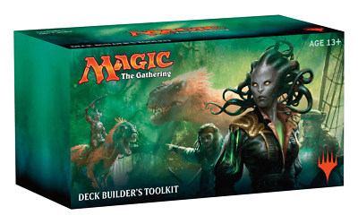 MTG Magic - Ixalan - Deck Builder's Toolkit (includes 4 booster packs)