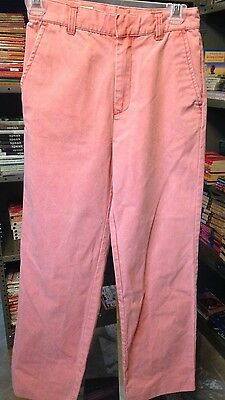 MURRAY'S TOGGERY Cotton Nantucket Red Collection Casual PANTS Boys Size 12 Kids