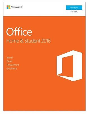 Microsoft Office Home and Student 2016 (Windows) 1PC 1USER