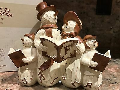 Flurryville Collection by Living Quarters in Box / Figurine Carolers