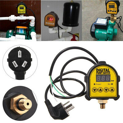 Automatic Digital Pressure Controller ON OFF Switch 220V For Water Ail Gas Pump