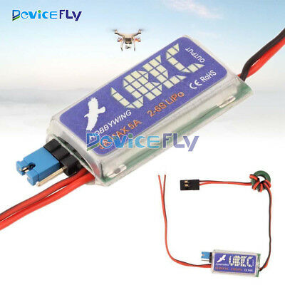 HOBBYWING RC UBEC 5V 6V 3A Max 5A Switch Mode Lowest RF Noise BEC Per RC Models