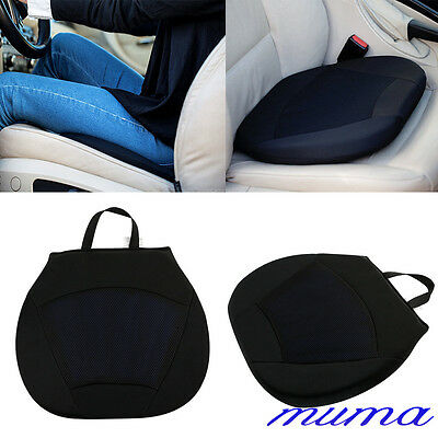 Orthopedic Silicone Driving Lumber Support Gel Car Seat Cushion Pad Black New