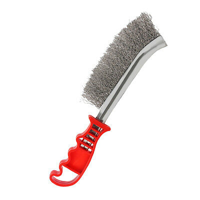 Hand Wire Brush Metal Steel Bristle Rust Paint Remover Scratch Grout Tool