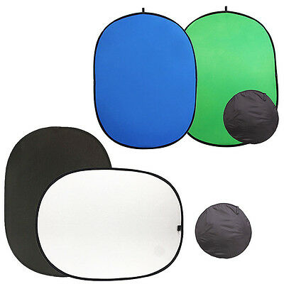 Photo Studio Screen Chroma Key Popup Backdrop Collapsible Background Reversible