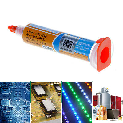 XG-Z40 Solder Paste Low Temperature Tin-Lead Syringe SMT BGA Melt Point 180°C